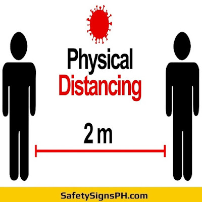Physical Distancing Sign