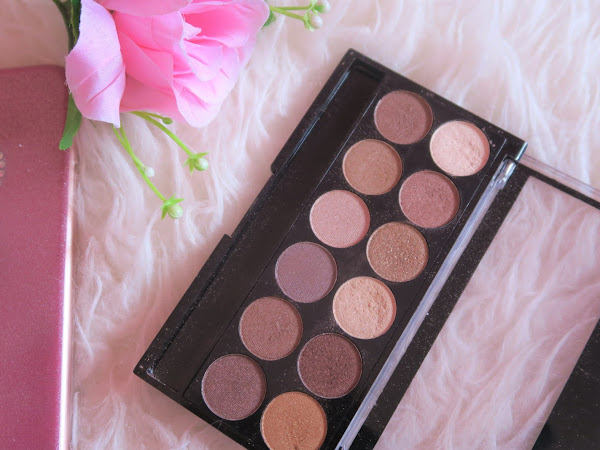 Review - Paleta Heaven & Earth MUA
