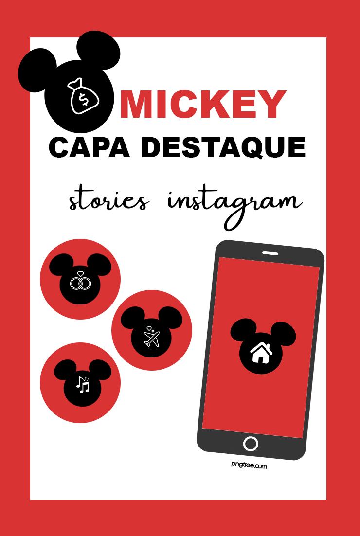 Capa destaque instagram Mickey