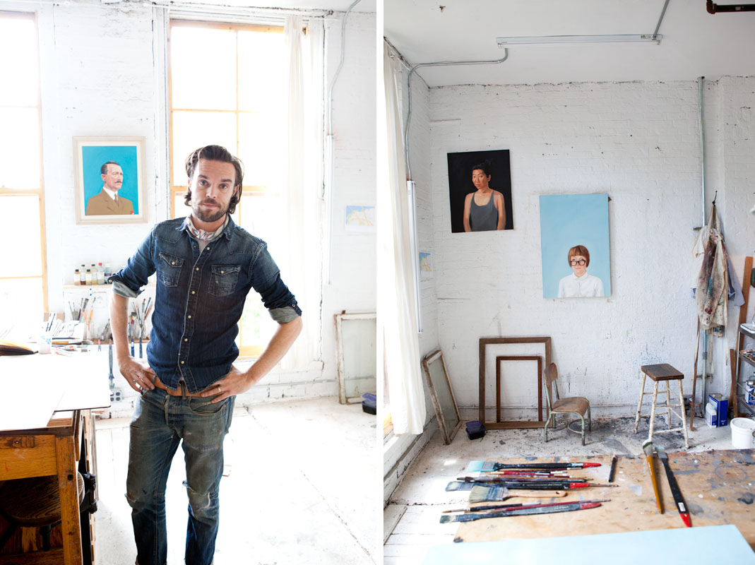 Jennifer Causey Photography Oliver Jeffers For Uppercase Mag