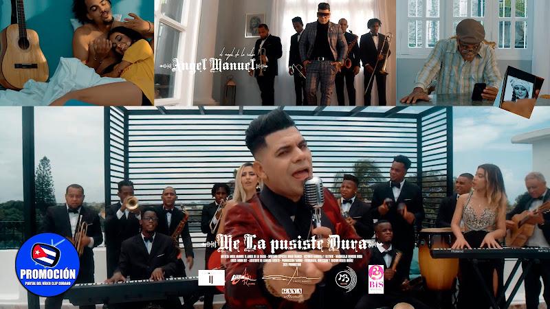 Ángel Manuel - ¨Me la pusiste dura¨ - Videoclip - Dir: Helier Muñoz. Portal Del Vídeo Clip Cubano. Música popular bailable cubana. Son. Salsa. Cuba.