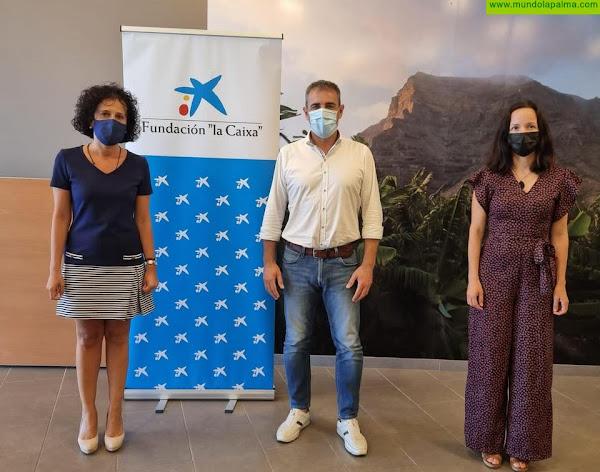 CaixaBank y Fundación 'la Caixa' colaboran con el Ayuntamiento de San Andrés y Sauces en la dotación del Centro de Día para Mayores