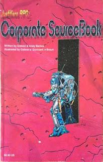 Justifiers RPG - Corporate Sourcebook