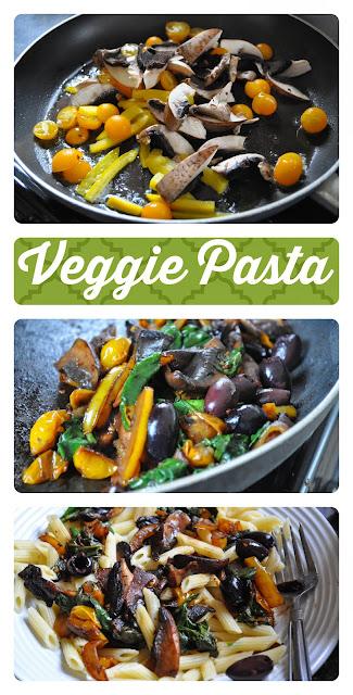 veggie pasta meatless monday