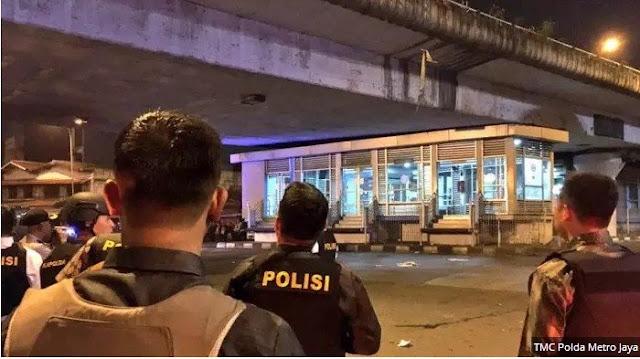 Polri Menduga Bom Kampung Melayu Jaringan Terorisme Kelompok ISIS