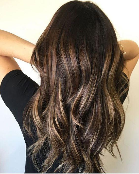 Burgundy Hair Brown Color