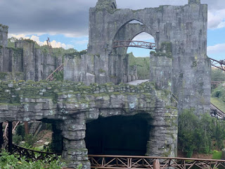 Hagrid's Ride to Open Midday for Next Few Weeks.