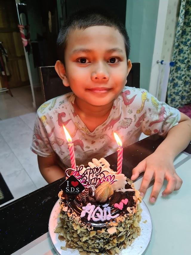 Selamat Hari Lahir Ahmad Aqil Harith yang Ke - 10 tahun
