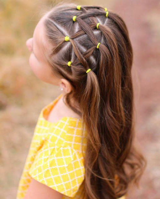 تسريحات شعر بنات صغار