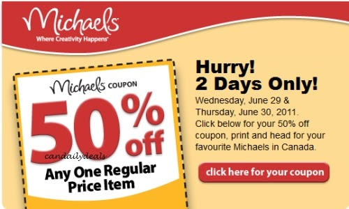 michaels sherbrooke coupons