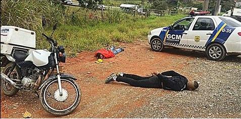 Guarda Civil de Itaquaquecetuba detém meliantes 30 minutos após roubo