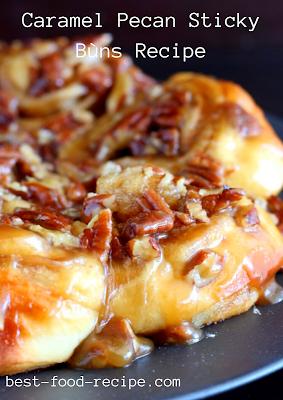 Caramel Pecan Sticky Bùns Recipe