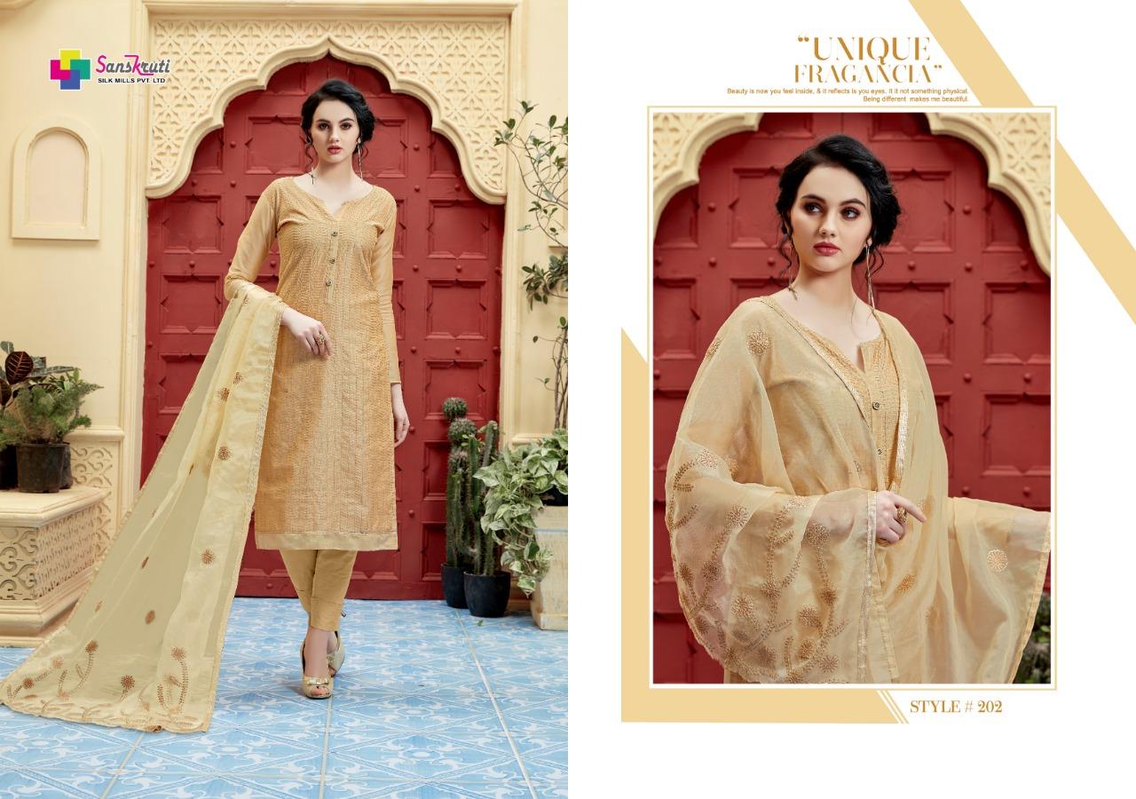 Sanskruti Sakshi Chanderi modal Salwar Suits Diwan fashion