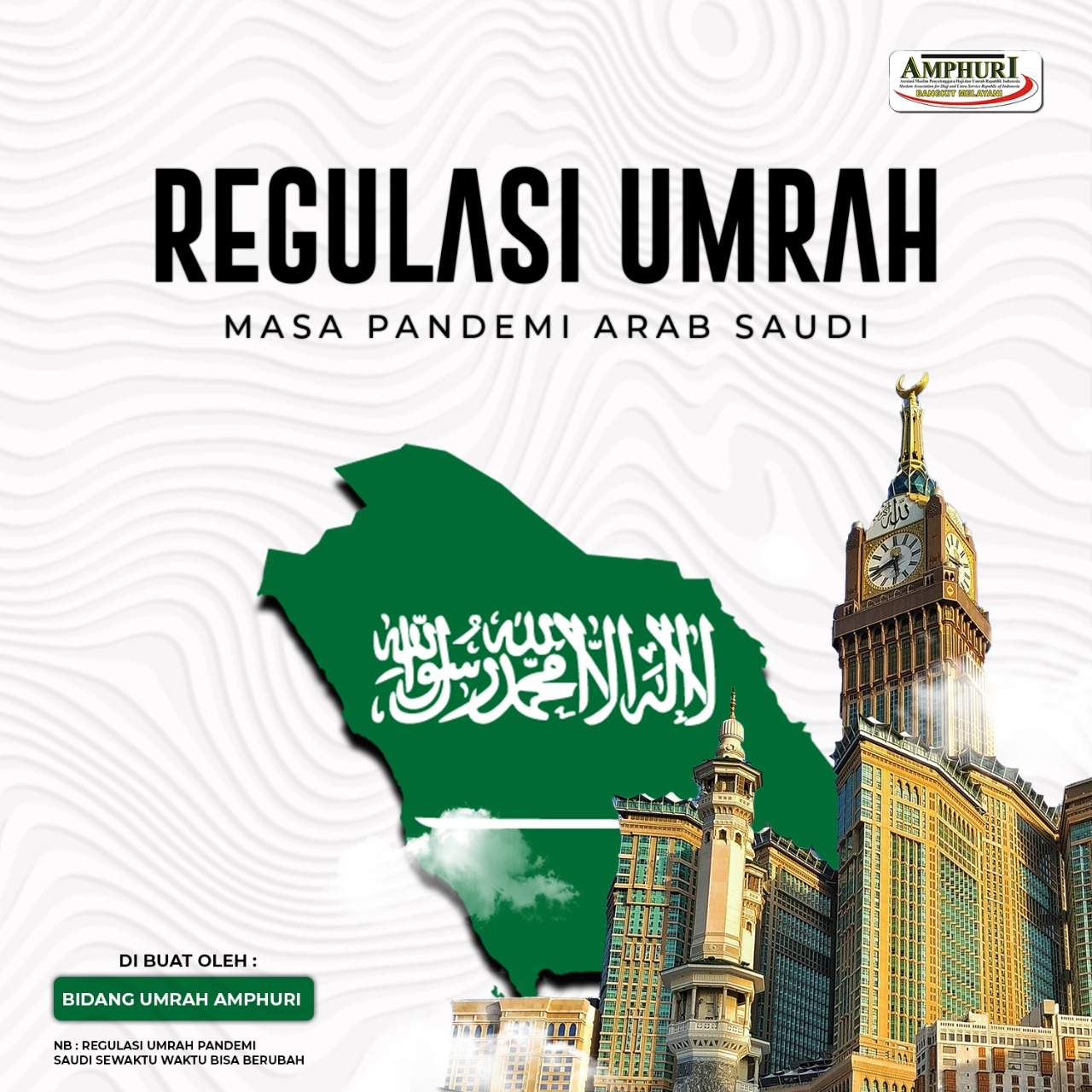 Regulasi Umroh di Masa Pandemi New Normal