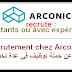 Recrutement chez Arconic اعلان عن حملة توظيف في عدة تخصصات