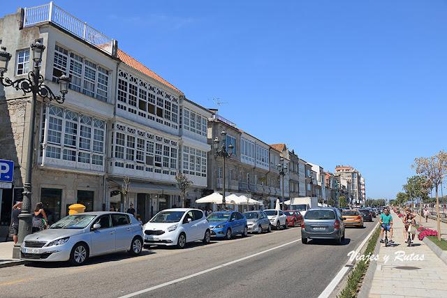 Paseo marítimo de Baiona