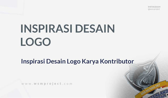 Inspirasi Desain logo Karya Kontributor WSM Project