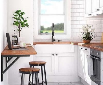 5 Ide Meja Bar Dapur Minimalis (Untuk Dapur Sempit)