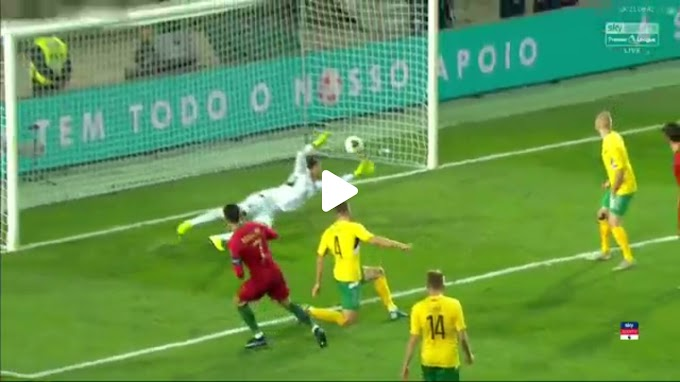 VIDEO: Portugal 6:0 Lithuania / European Qualifiers
