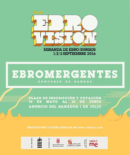 Concurso de bandas EBROMERGENTES Festival Ebrovision 2016