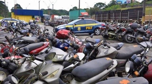 PRF realizará mais um leilão 'on-line' com mais de 250 veículos recolhidos na Bahia