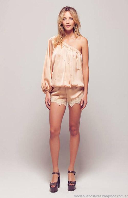 Looks primavera verano 2015 Silvina Ledesma diseñadora de moda.
