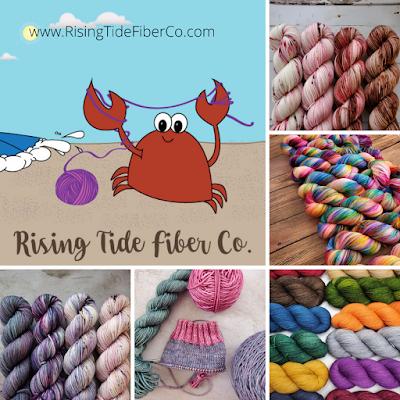 variety of yarn and logo