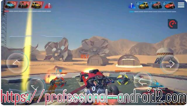لعبة ميتال مادنيس METAL MADNESS PvP مهكرة جاهزة اخر إصدار مجانا للاندرويد .