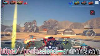 لعبة ميتال مادنيس METAL MADNESS PvP مهكرة للاندرويد اخر اصدار