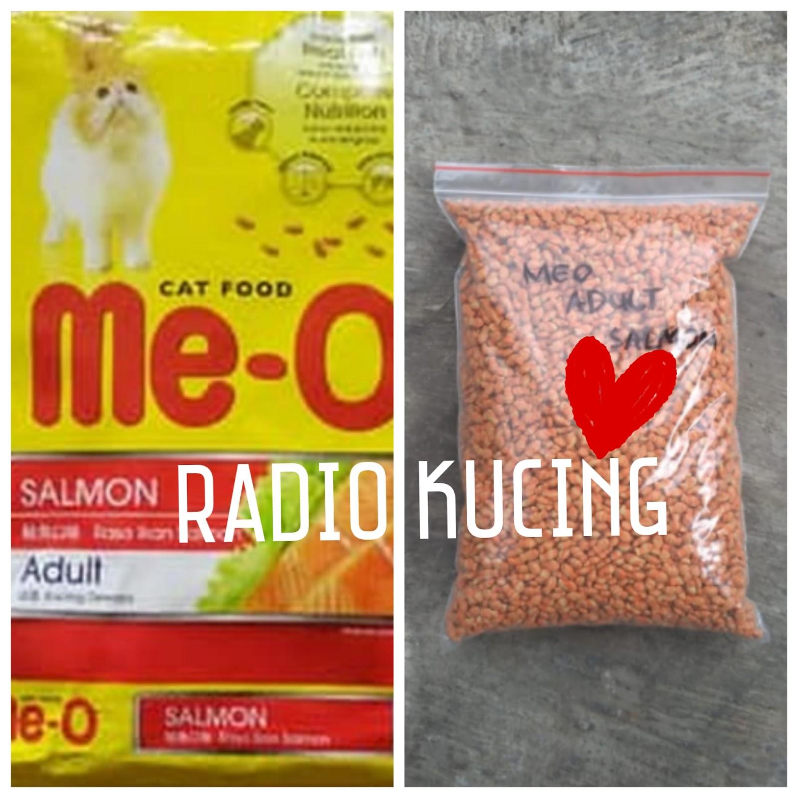 Review Makanan Kucing Me O Adult Salmon Radiokucing Com