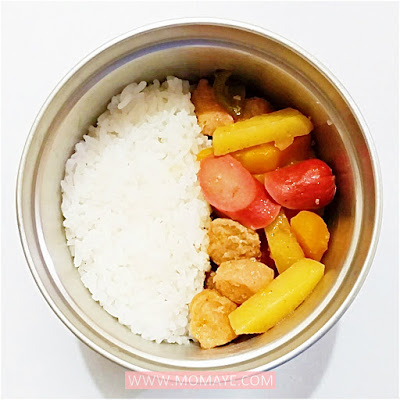 #BentoBaonSerye, 2019, bento, bento baon, bento baon serye, bento lover, bento mom, BuBee Lunch Jar, budget ideas, Lunch in a BuBee Lunch Jar, Momaye Baon Diary, school baon, weekly bento baon,
