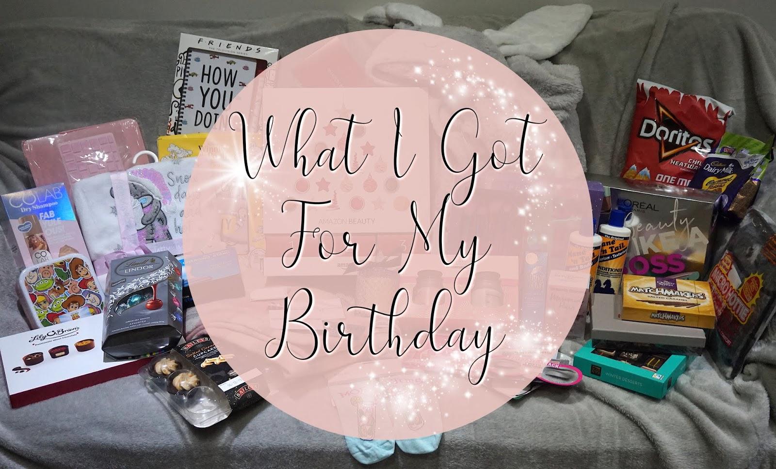 What I Got For My Birthday 2019 Jenna Suth