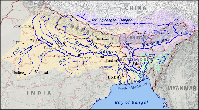 Ganges course map