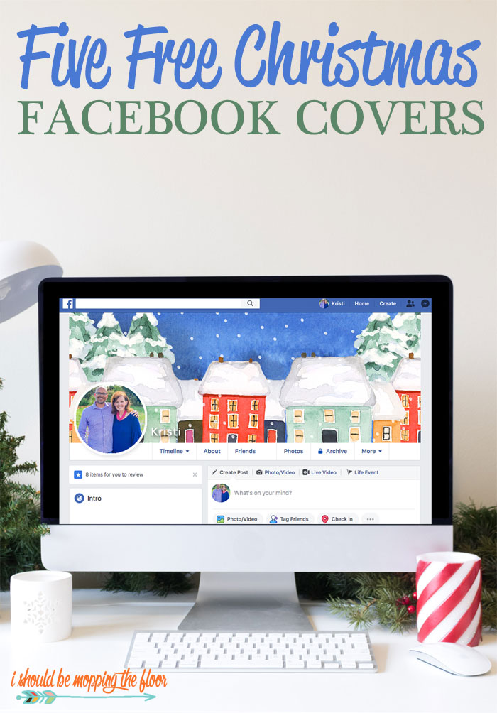 Free Christmas Facebook Cover Downloads in Five Festive Designs