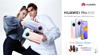 HUAWEI Y Series Hit a New High with the Midrange King HUAWEI Y9a - Now Open for Pre-orders