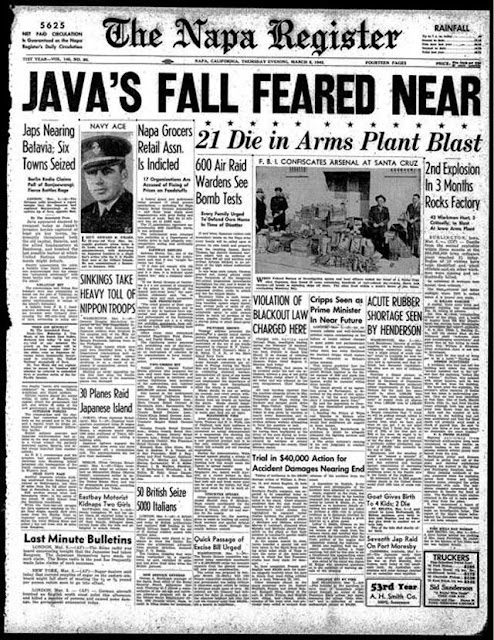 Napa Register, 5 March 1942, worldwartwo.filminspector.com