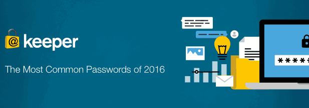 Le password più comuni del 2016