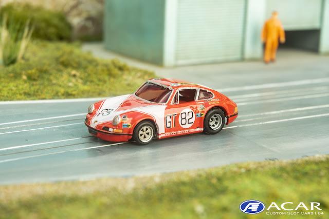 Frontansicht des Porsche 911S Kremer Racing mit Fuchsfelgen