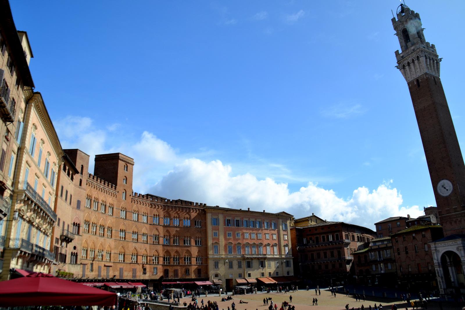 Siena, Tuscany, Italy  // Veľká Noc 2018 - 4. deň