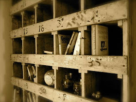 organizing with cubbies