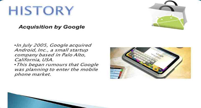 In which year did Google acquire Android Inc?