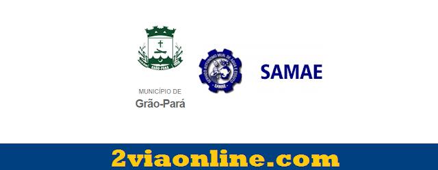 2Via SAMAE Grão-Pará, SC: confira como consultar e gerar boleto da fatura