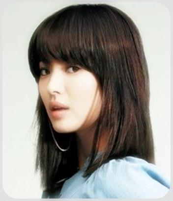 model+rambut+korea