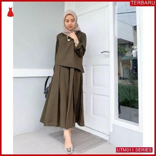 UTM011Z52 Baju Zaitun Muslim Dress UTM011Z52 00B | Terbaru BMGShop