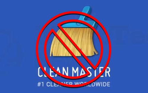 Clean Master حذف