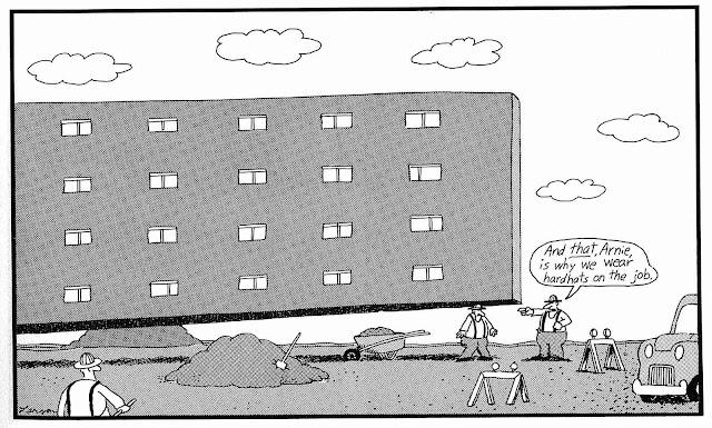 a Gary Larson cartoon about job safety