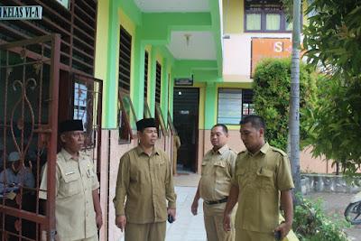 Kemenag Tanjungbalai Tinjau Proses UN Tingkat MI