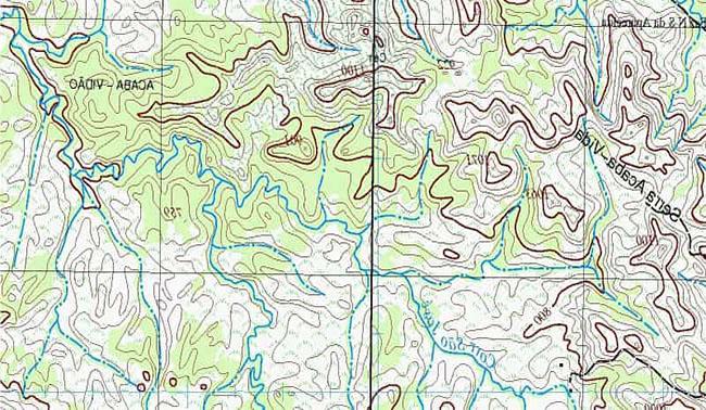 Características de la Carta Topográfica