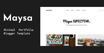 [Premium Template] Maysa Blogger Template