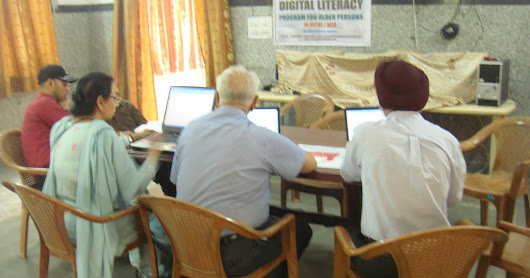 Agewell Foundation Digital Literacy Program Supported By ORACLE